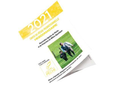 Visuel de la carte hebdomadaire 2021