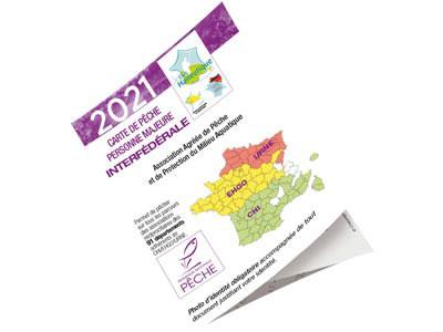 Visuel de la carte interfédérale 2021