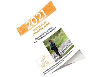 Visuel de la carte journalière 2021