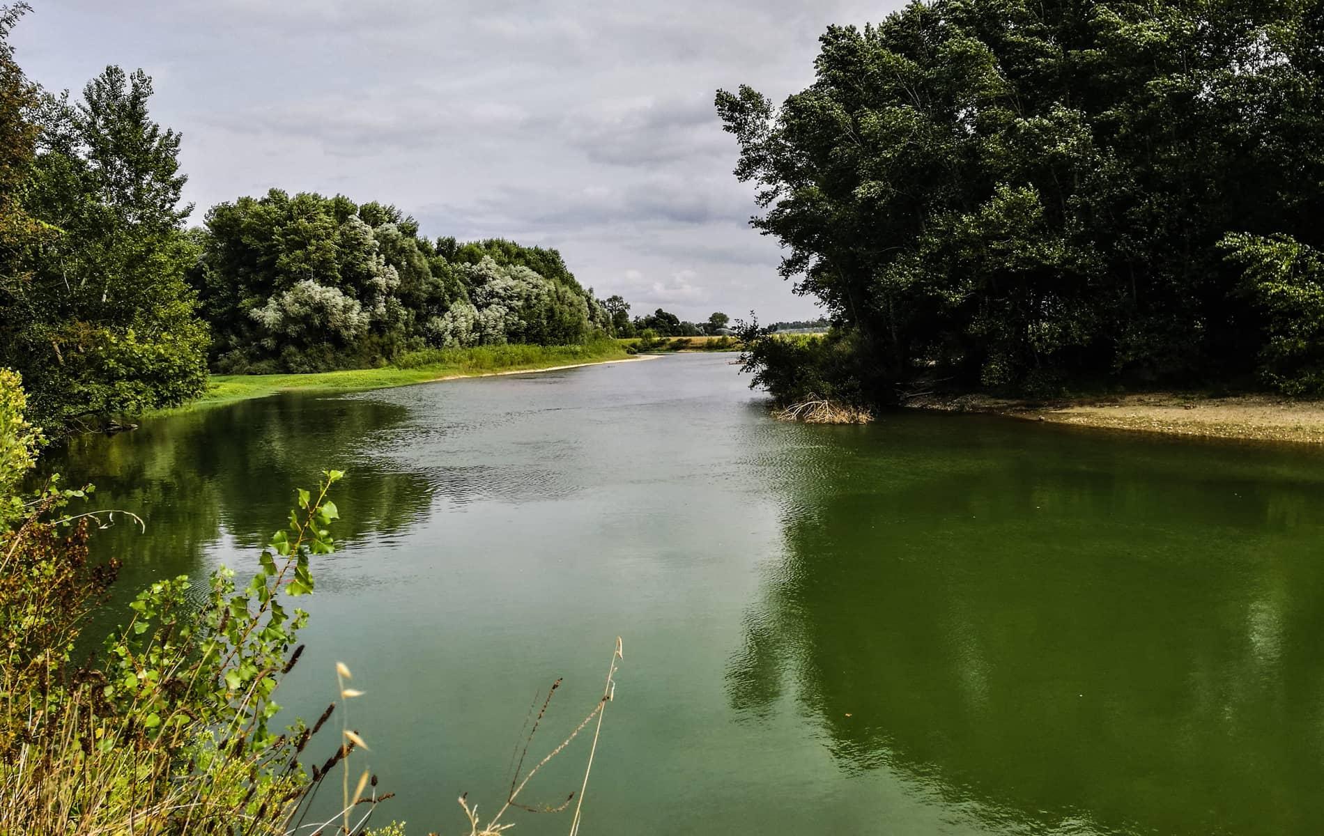 Cours d'eau dans les Landes
