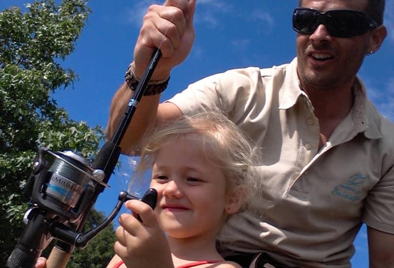 Partagez votre passion et parrainez un jeune pêcheur