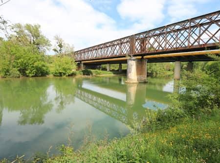 fleuve Adour entre Dax et Aire