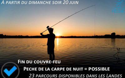 Points de situation COVID-19 et pêche de loisir
